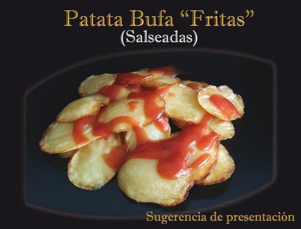 Patata Bufa. Sugerencia de presentación.
