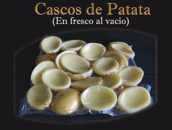 Cascos de patata